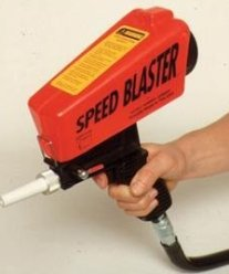 Unitec speed blaster gravity feed sandblaster.